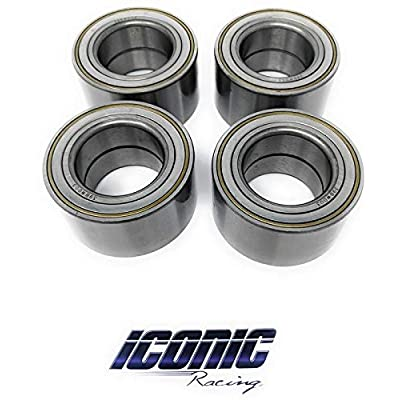 Iconic Racing Both Front and Rear Wheel Bearings Compatible with Can-Am Maverick X3 2020-2020: Automotive [5Bkhe1008679]