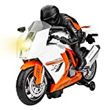 GP TOYS Motorcycle Toddler Toy Car for 2 3 4 5 Year Old Boys Girls Birthday Gift Preschool Games,...