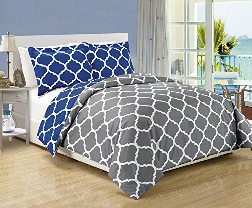 Top Best 5 King Navy Comforter Set For Sale 2017 Product
