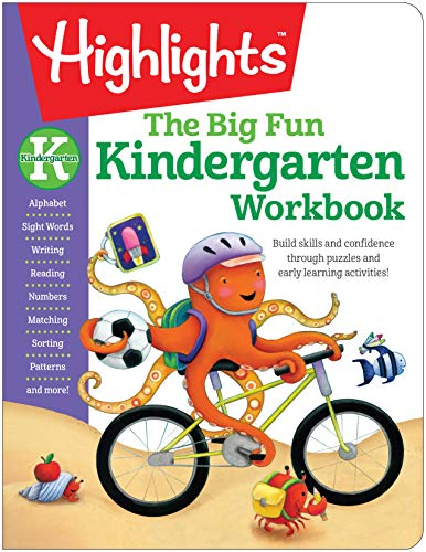 The Big Fun Kindergarten Workbook Build skills and confidence through puzzles and early learning activities! (Highlights Big Fun Activity Workbooks) (Tapa Blanda)