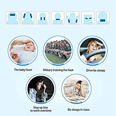 4Pcs/Box Herbal Antipyretic Cooling Gel Patch Physical Cooling Fever Get Rid of Sleepy Keeping Awake Natural Pain Relief Pad