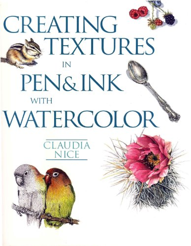 Creating Textures in Pen & Ink with - And Ink Watercolor Pen