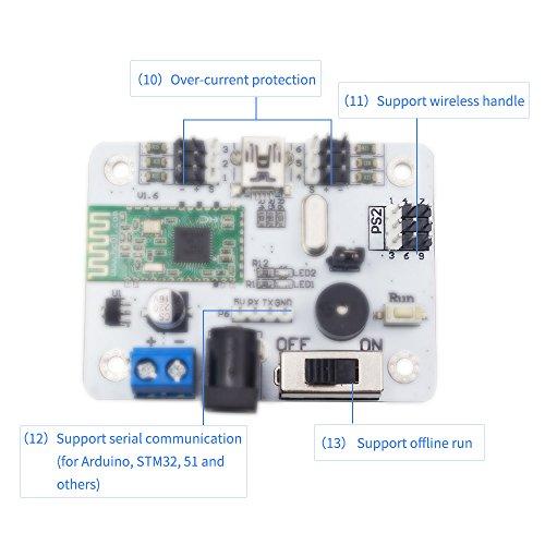 LewanSoul Bluetooth 6 Channel Servo Controller Robotic Arm - Import