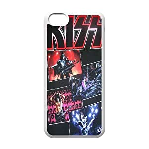 High Quality -ChenDong PHONE CASE- For Iphone 5c -Popular KISS Band Pattern-UNIQUE-DESIGH 10