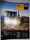 Caterpillar D5M Track-Type Crawler Tractor Sales Brochure