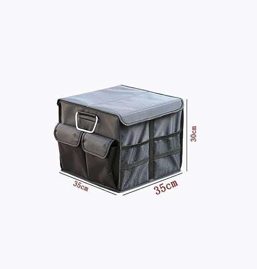 Cajas de almacenaje de automóviles de gran capacidad, cajas de respaldo de cajas de a bordo, cajas de recibos plegables for camiones y cajas de artículos varios, con tapa Cajas de recepción