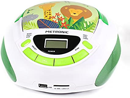 Metronic Radio Cd Player Für Kinder Ozean Mit Usb Elektronik