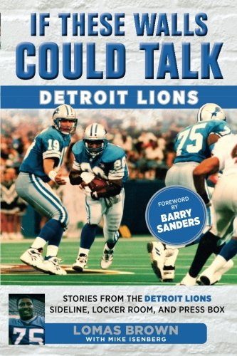 Lions Brown Football (If These Walls Could Talk: Detroit Lions: Stories From the Detroit Lions Sideline, Locker Room, and Press Box)