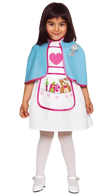 Fyasa 720832-t02 - Disfraz de enfermera para niña, tamaño ...