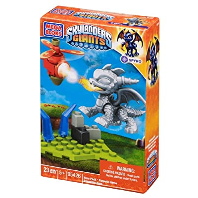 Mega Bloks Skylanders Metallic Spyro Building Pack: Toys & Games