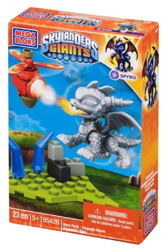 Mega Bloks Skylanders Metallic Spyro Building Pack