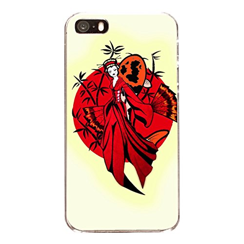 "Disagu Design Case Coque pour Apple iPhone 5s Housse etui coque pochette ""Geisha"""