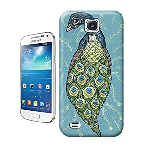 Unique Phone Case Peacock and Phoenix-06 Hard Cover for samsung galaxy s4 cases-buythecase