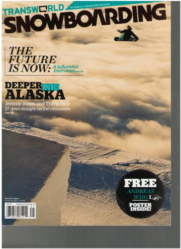 Transworld Snowboarding Magazine (Deeper into Alaska, January 2010) ()