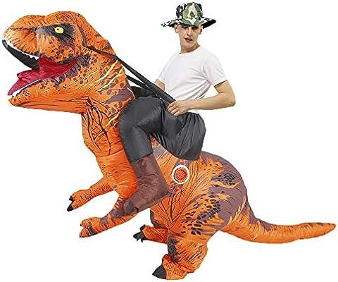 Forart Disfraz de dinosaurio inflable Disfraz de disfraces de ...