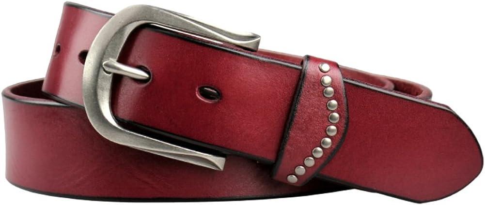 Lady belt Fashion rivet leisure leather belts