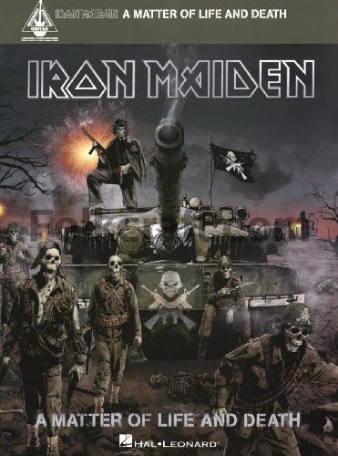 Hal Leonard Iron Maiden - A Matter of Life and Death Songbook (Iron Maiden Sheet Music)