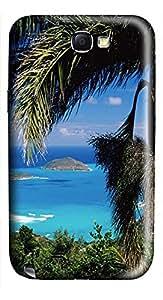 Samsung Note II Case Brass Islands 3D Custom Samsung Note 2 Case Cover