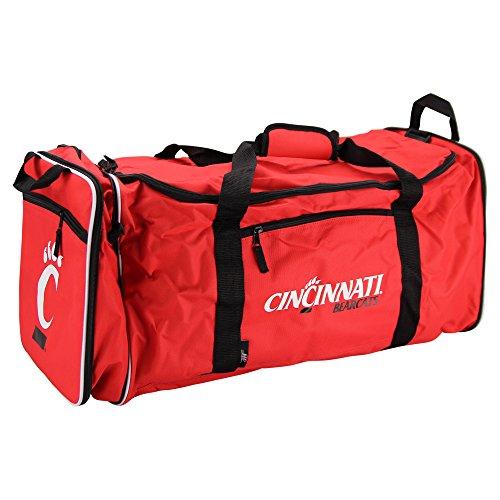 NCAA Team Logo Extended Duffle Bag (Cincinnati - Gym Ncaa Bag Logo