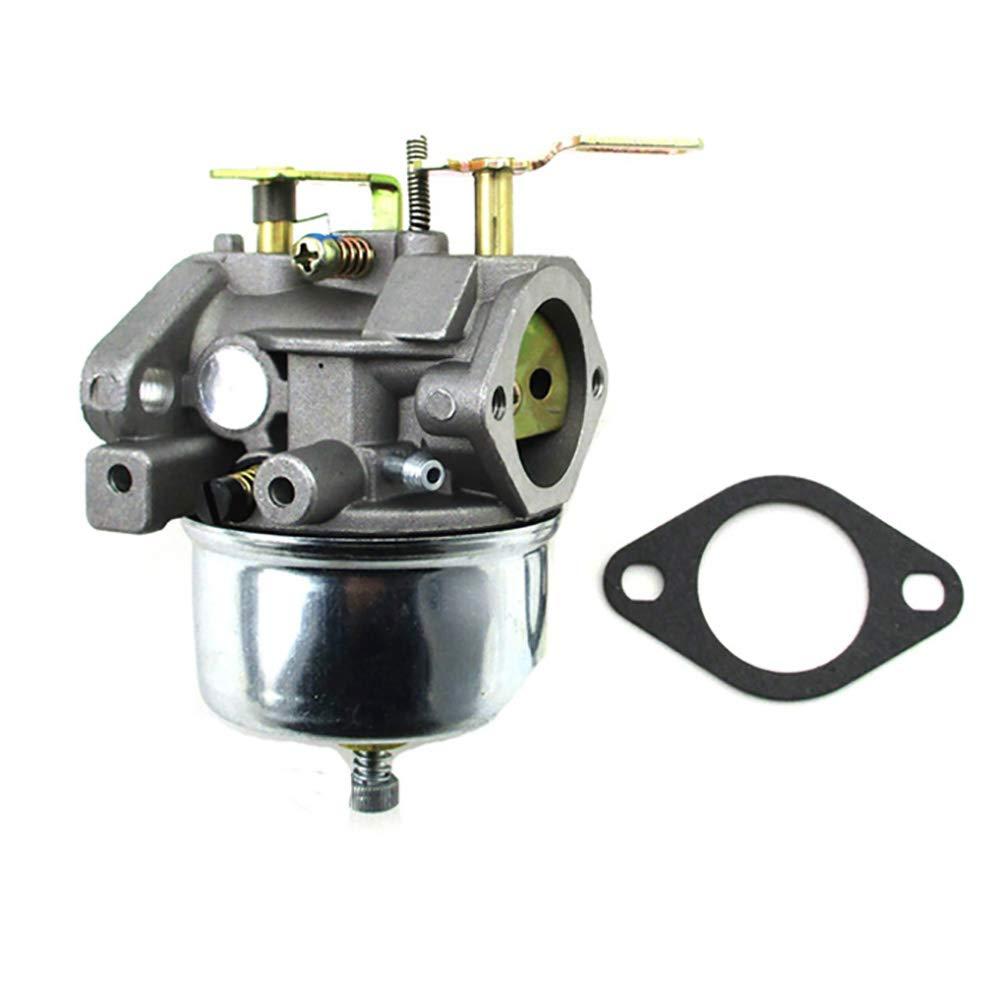 Vacfit 632370a Carburetor For Tecumseh 632370 632110 Fuel Filter Hm100 Hmsk100 Hmsk90 632111 632334 632536 640105 632334a Hm80 Hmsk80 Ohsk110 Ohsk120