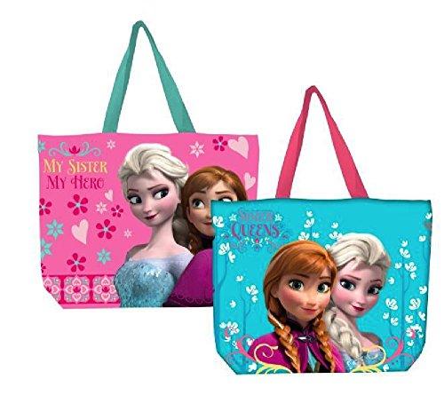 Licences-Stars - Bolsa de playa, diseño de la película Frozen, color azul Varios colores azul azul
