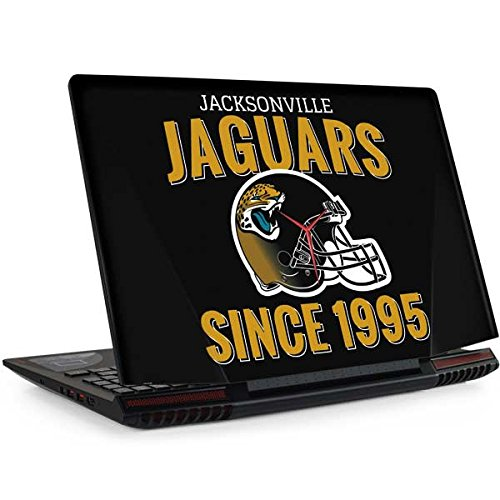 Skinit Jacksonville Jaguars Helmet Legion Y720 Skin - Officially Licensed NFL Laptop Decal - Ultra Thin, Lightweight Vinyl Decal Protection