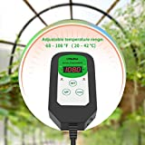 Ohuhu Digital Seedling Heat Mat Thermostat
