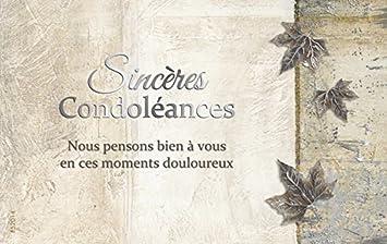 """Résultat de recherche d'images pour """"carte sincère condoléances"""""""