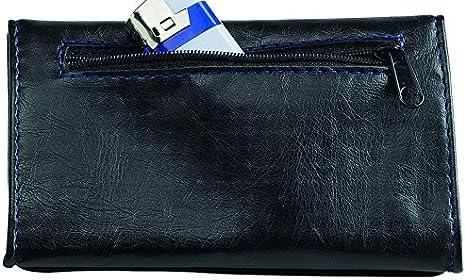 Grand Noir accessoires de voyage Egoist Blague /à tabac // Porte tabac // pochette /à tabac en ecopelle