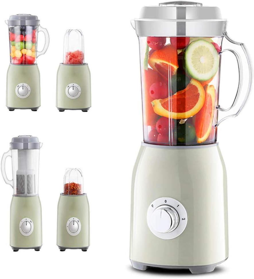 M.Y - Batidora portátil 4 en 1, picadora eléctrica de cebolla, 1,2 l, robot de bebe, batidora beaba y mezclador monodosis pequeño para batidos y batidos, color verde: Amazon.es: Hogar