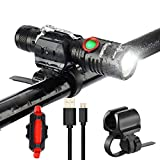 Best lights for bikes - Uelfbaby 1000 Lumen Bike Light USB Rechargeable Stepless Review