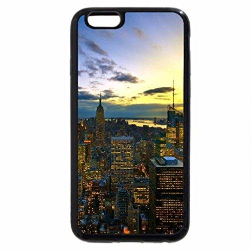 iPhone 6S / iPhone 6 Case (Black) New York sunrise
