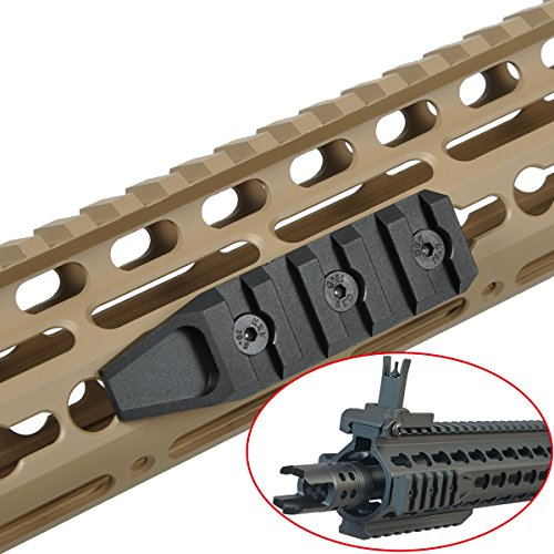 AIMTIS 5 Slots Keymod Rail Section Picatinny Rail Mount URX 4 Tactical Gear Accessory