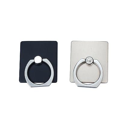 2 piezas de metal Gancho del sostenedor del soporte del anillo de montaje universal pestaña de