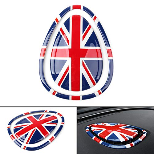 Artudatech For MINI Cooper/S F54 F55 F56 F57 RD Union Jack Car Center Air Con Outlet Cover