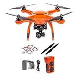 Autel X-Star Premium Drone W/ 4K Camera, Propeller Guards, Replacement Propellers & X-Star Battery (Orange)