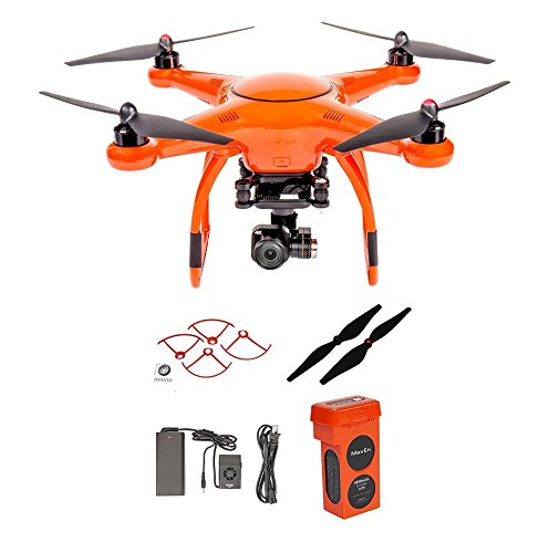 Autel X Star Premium Drone W 4K Camera Propeller Guards Replacement Propellers Battery Orange