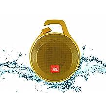 JBL Clip+ Portable Bluetooth Speaker, Yellow