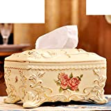 Modern tissue boxes/Luxury vintage ceramic tissue box-A