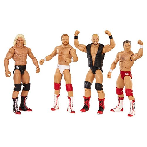 WWE Hall of Fame Four Horsemen Plastic Figure 4-Pack