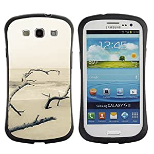 "Pulsar iFace Series Tpu silicona Carcasa Funda Case para SAMSUNG Galaxy S3 III / i9300 / i747 , Invierno de Lonely Blanca Nieve"""