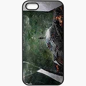 Personalized iPhone 5 5S Cell phone Case/Cover Skin After earth movie 2013 movies Black