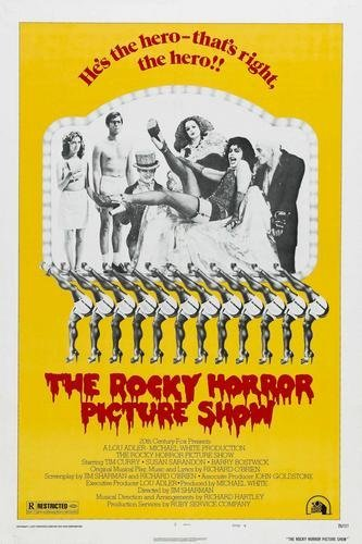 Rocky Horror Picture Show Movie Poster The Rhps