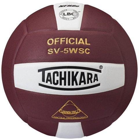 Tachikara NFHS Sensi-Tec Micro-Fiber Composite Leather Indoor Volleyball (SV5-WSC)