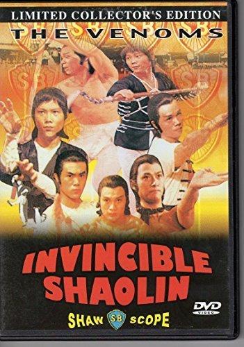 DVD : Invincible Shaolin