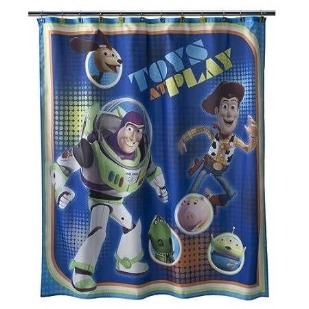 Disney Toy Story Sunnyside Shower Curtain