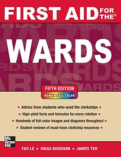 First Aid for the Wards, Fifth Edition (First Aid - First Aid Shelf 5