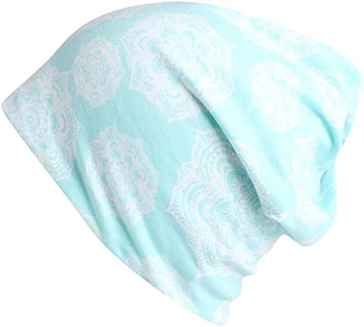2 in 1 Head wear set Great for fashion or chemo Cotton beanie and head scarf