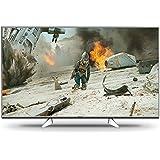 Panasonic TX-55EXW604S 139 cm (55 Zoll) Fernseher (4K ULTRA HD, HDR Multi, 1.300Hz bmr, Quattro Tuner, TV>IP Client, USB Recording) silber