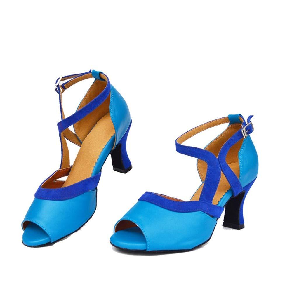 HCCY Blau Blau Blau high-Heeled Latin Dance schuhe Woherren Indoor Ladies Dance schuhe modern Dance schuhe 94bcb9